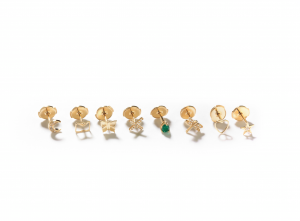 Stud Earrings - 14kt gold