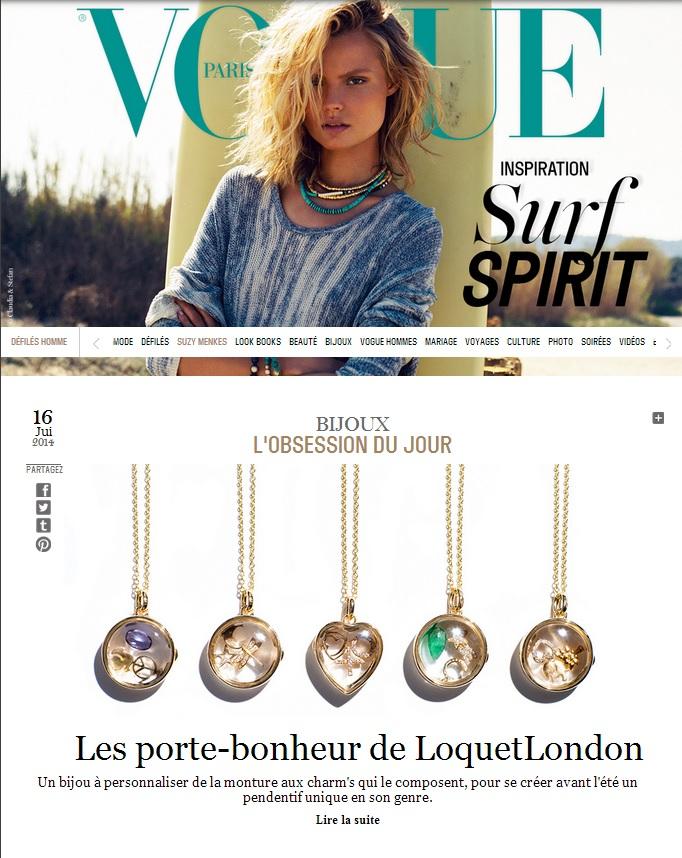Vogue Paris cover thumbnail