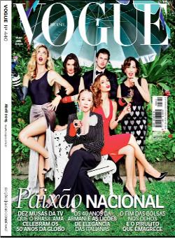 Vogue Brasil cover thumbnail