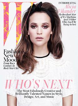 W magazine cover thumbnail