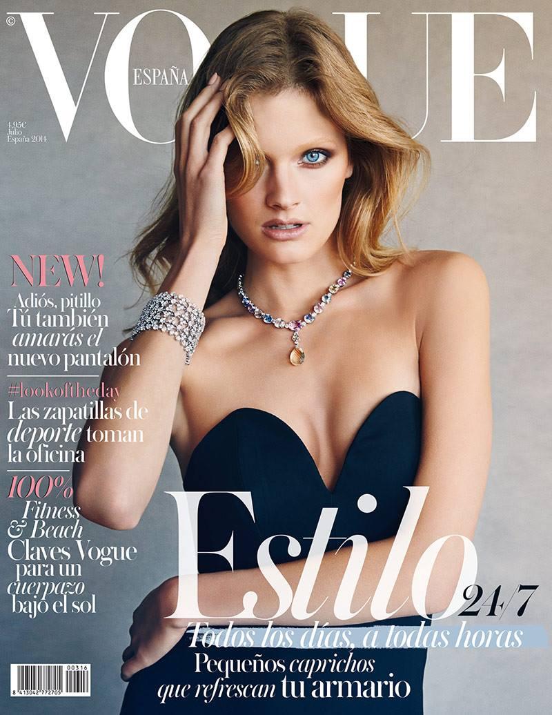 Vogue España cover thumbnail