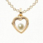 click to shop for pearl birthstone charms