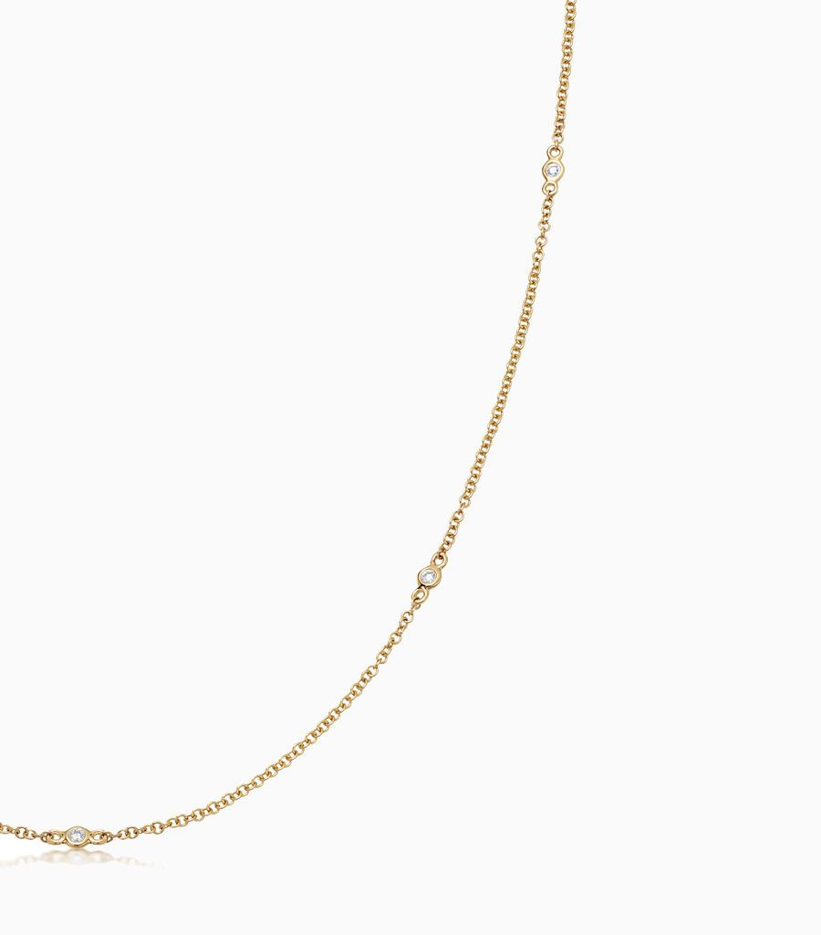32 inch Fine Diamond Necklace
