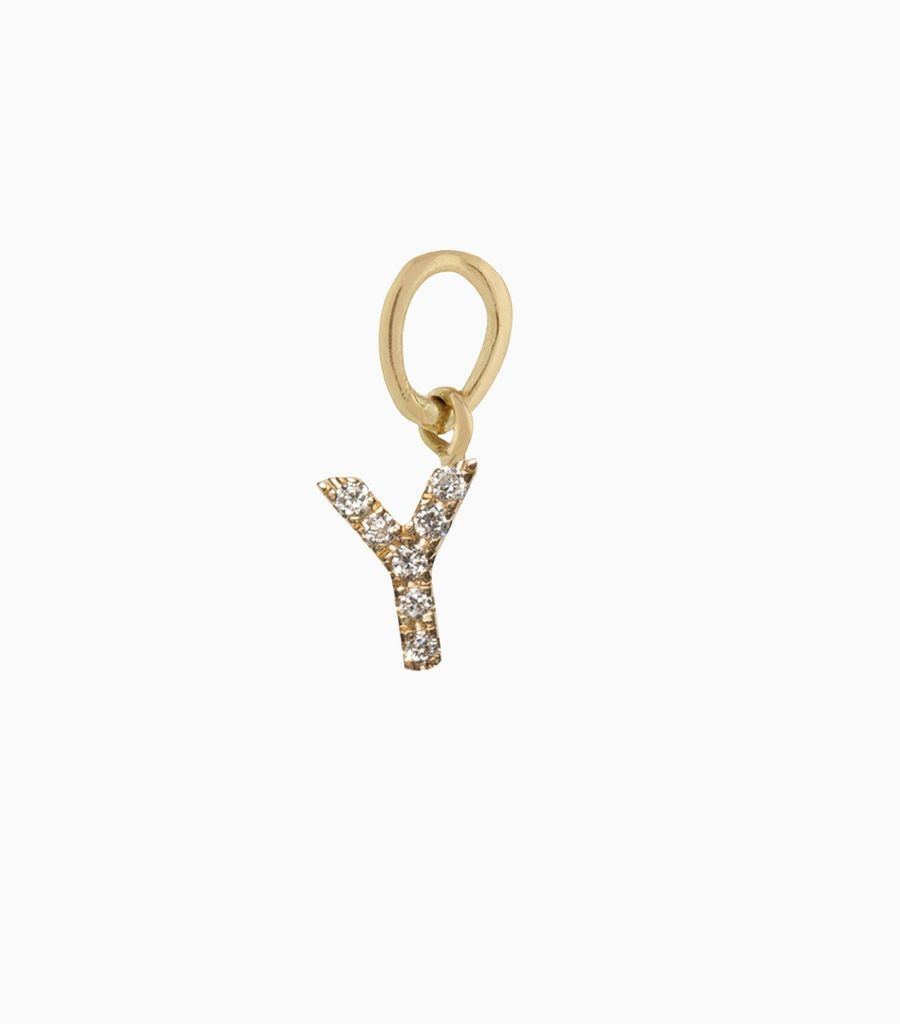 Talisman Diamond Letter Y