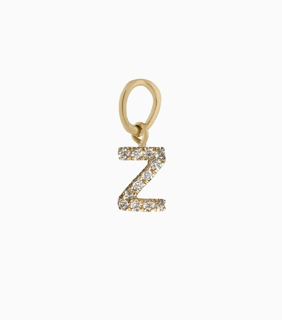 Talisman Diamond Letter Z