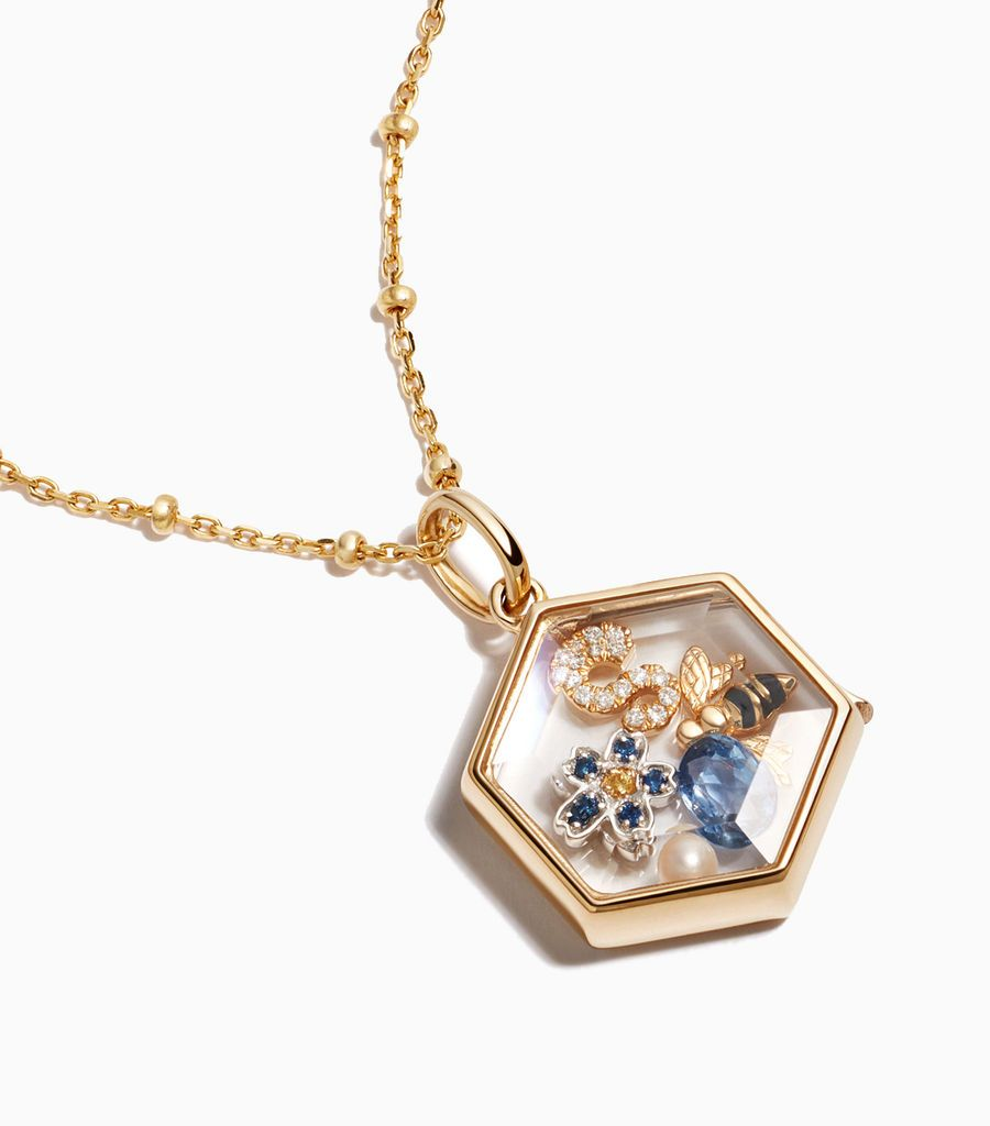 The Hexagonal Locket