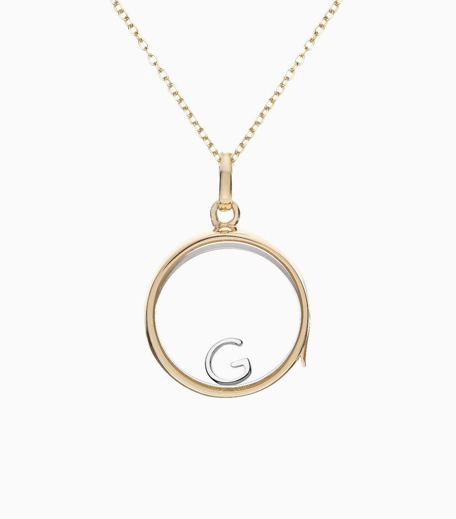 G White Gold Letter