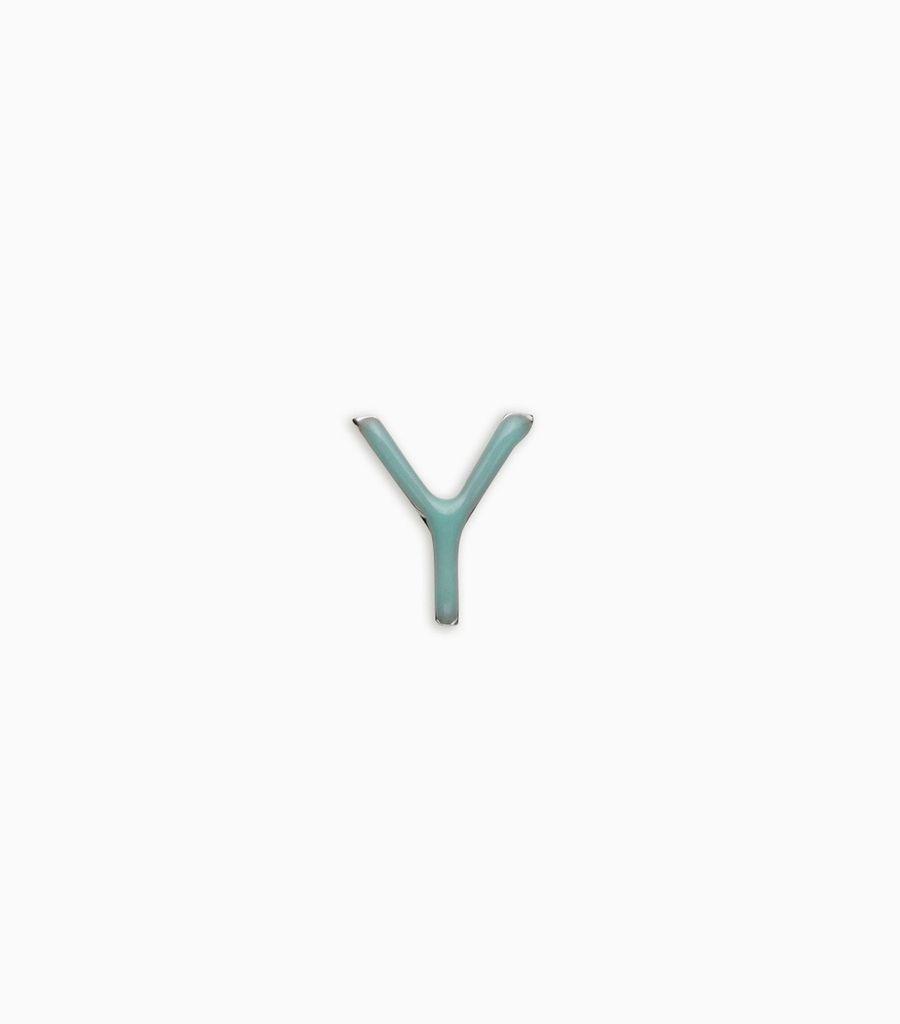 Enamel Letter Y