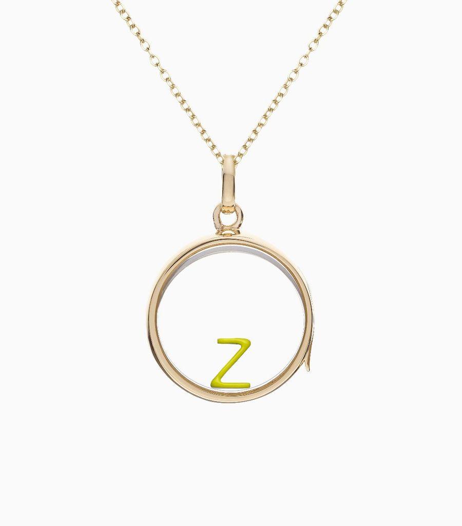 Enamel Letter Z