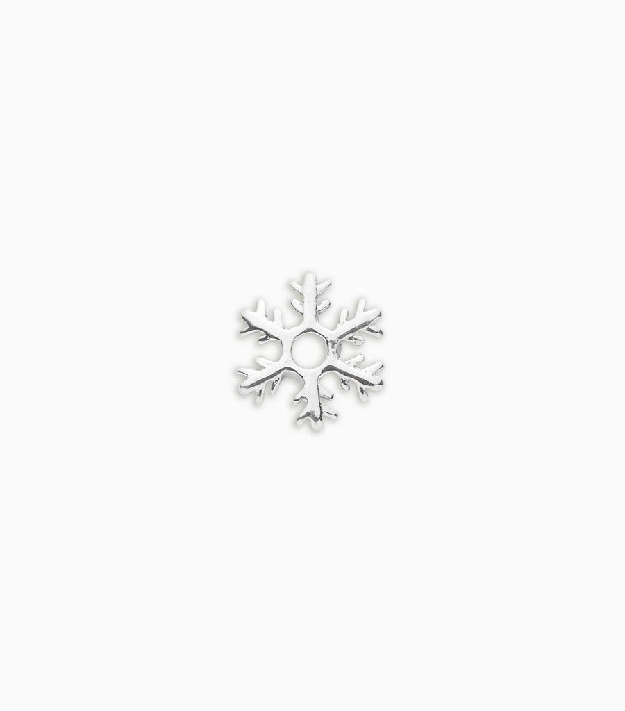 white gold, 18kt, snowflake