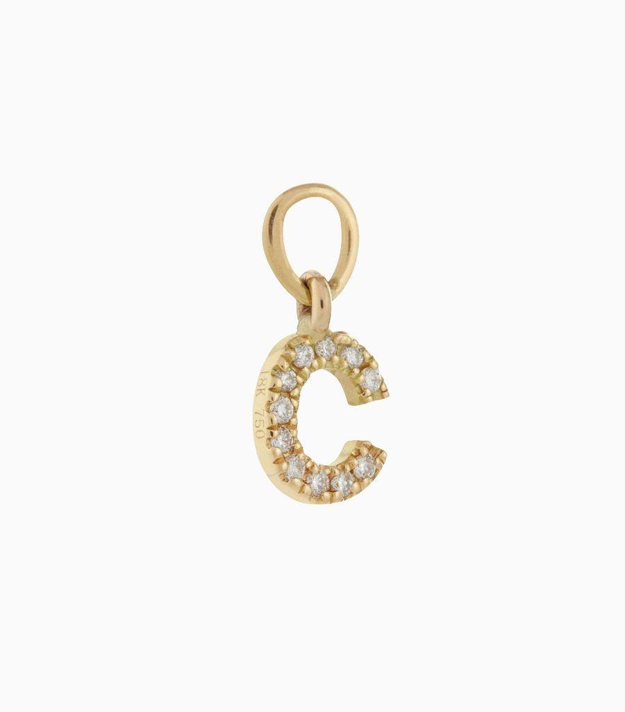 Talisman Diamond Letter C