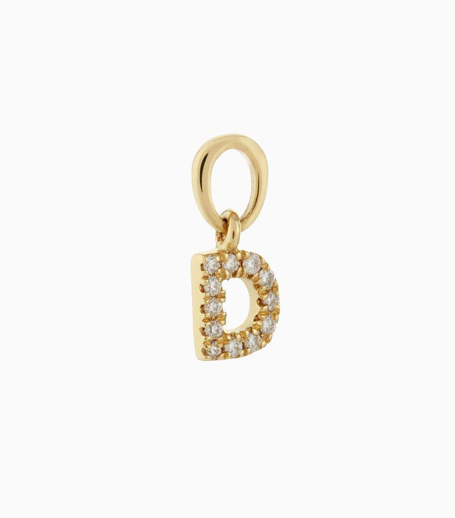 Talisman Diamond Letter D