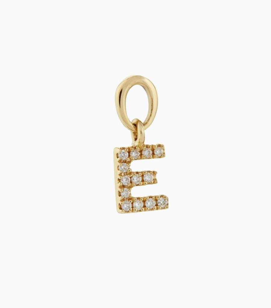 Talisman Diamond Letter E