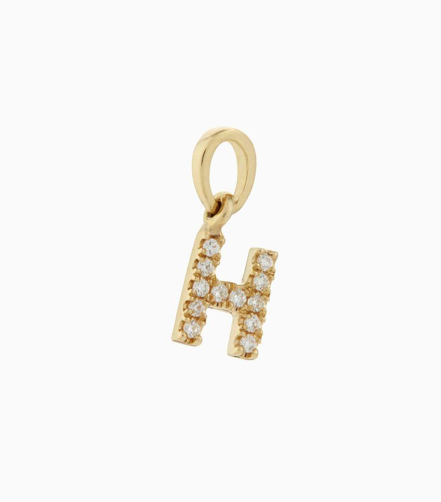 Talisman Diamond Letter H
