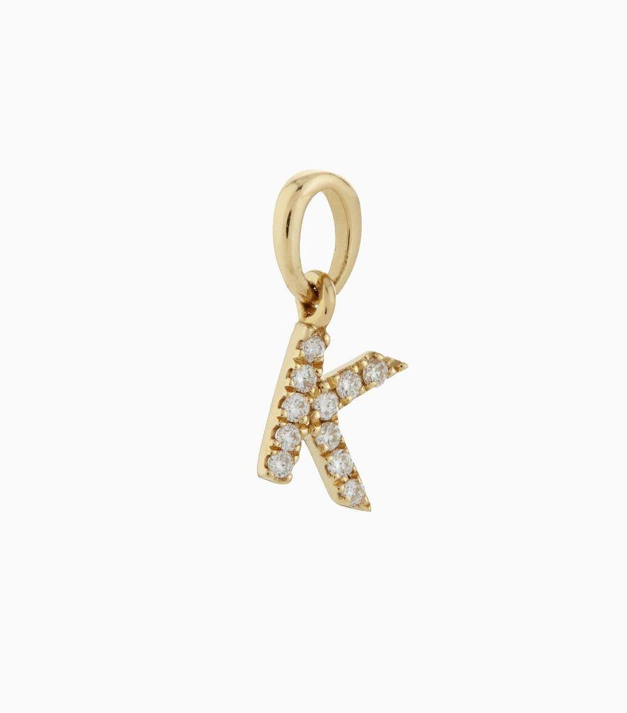 Talisman Diamond Letter K