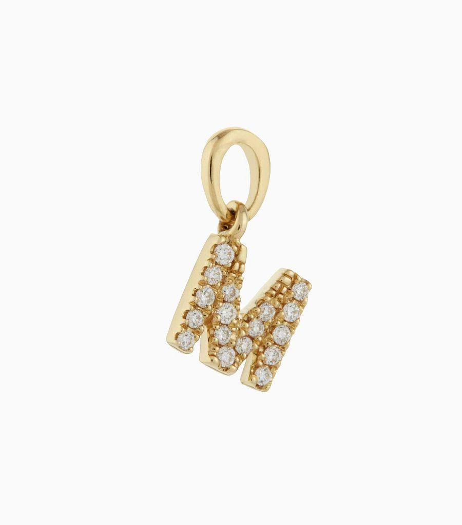 Talisman Diamond Letter M