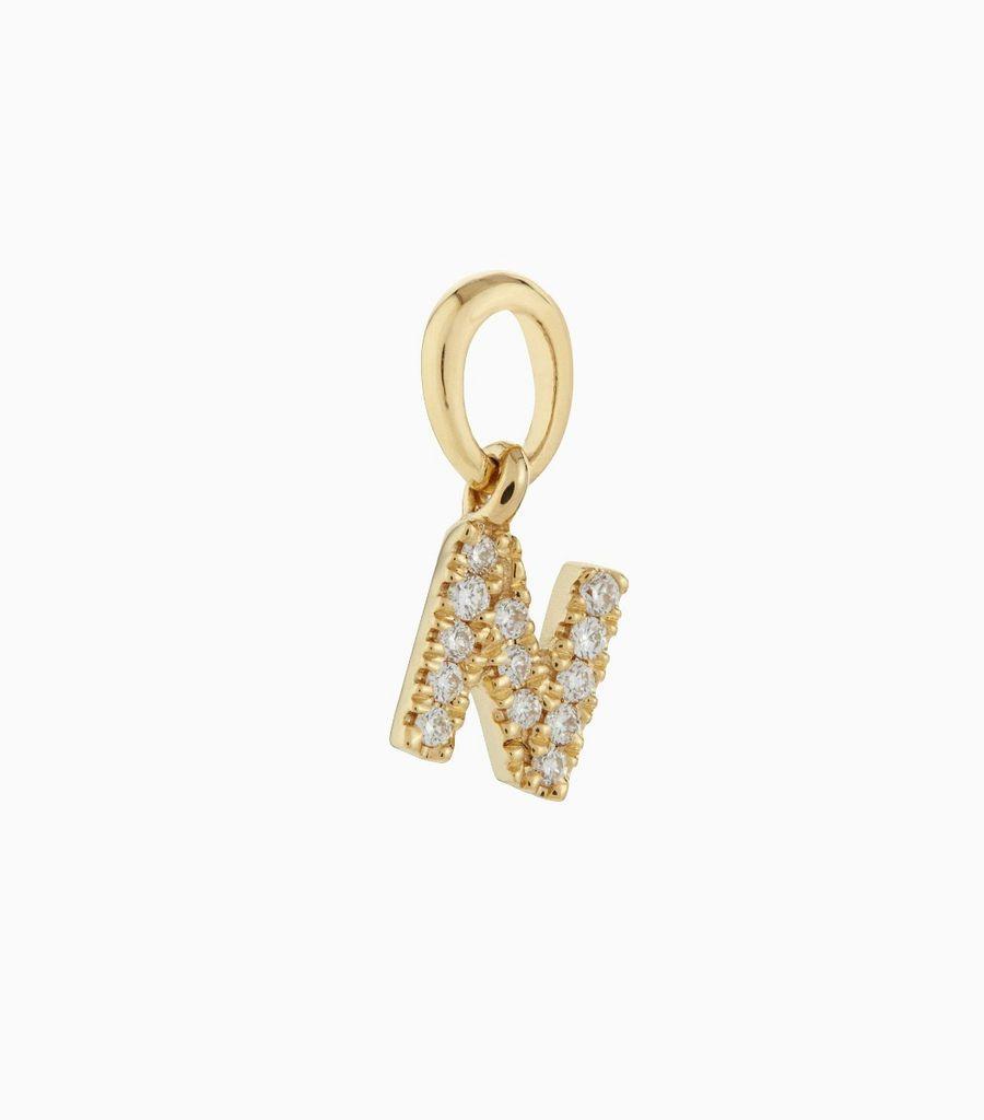 Talisman Diamond Letter N