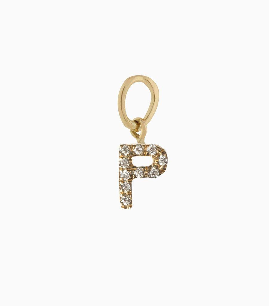 Talisman Diamond Letter P