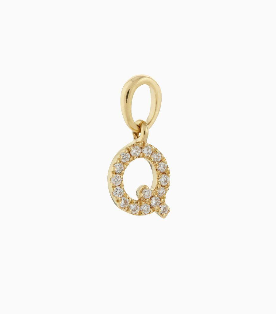 Talisman Diamond Letter Q