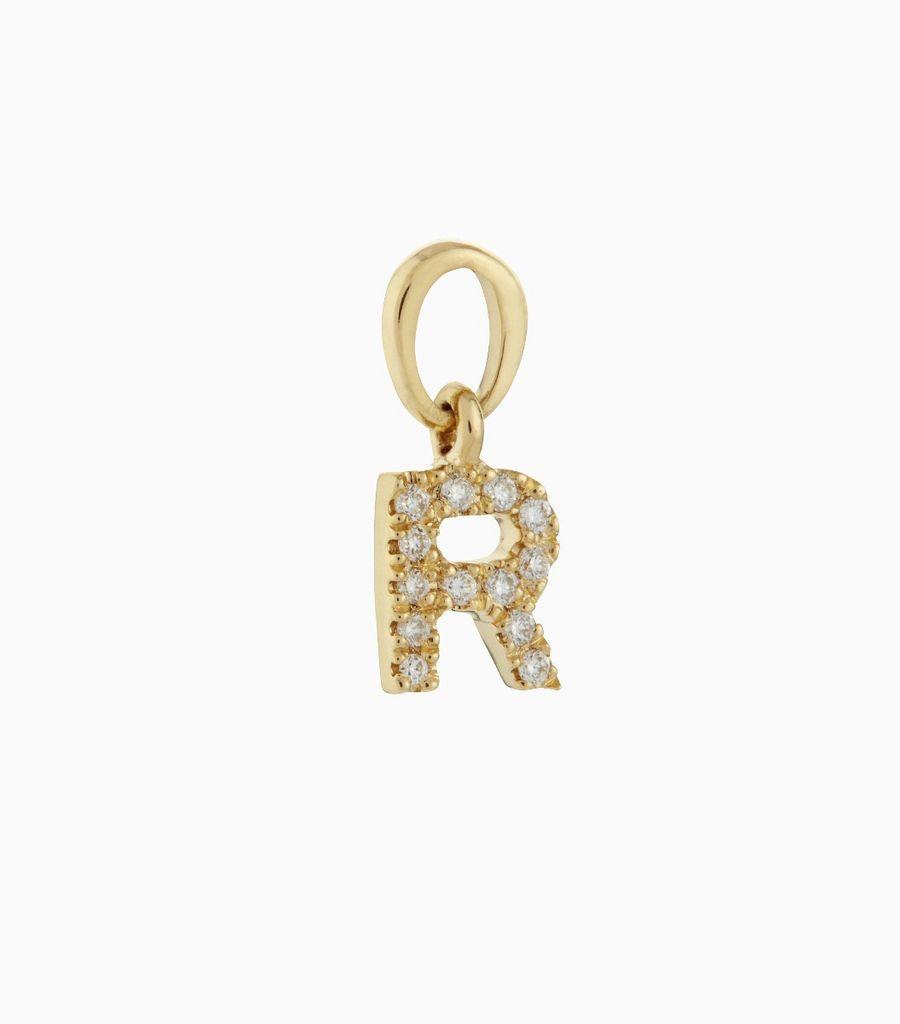 Talisman Diamond Letter R