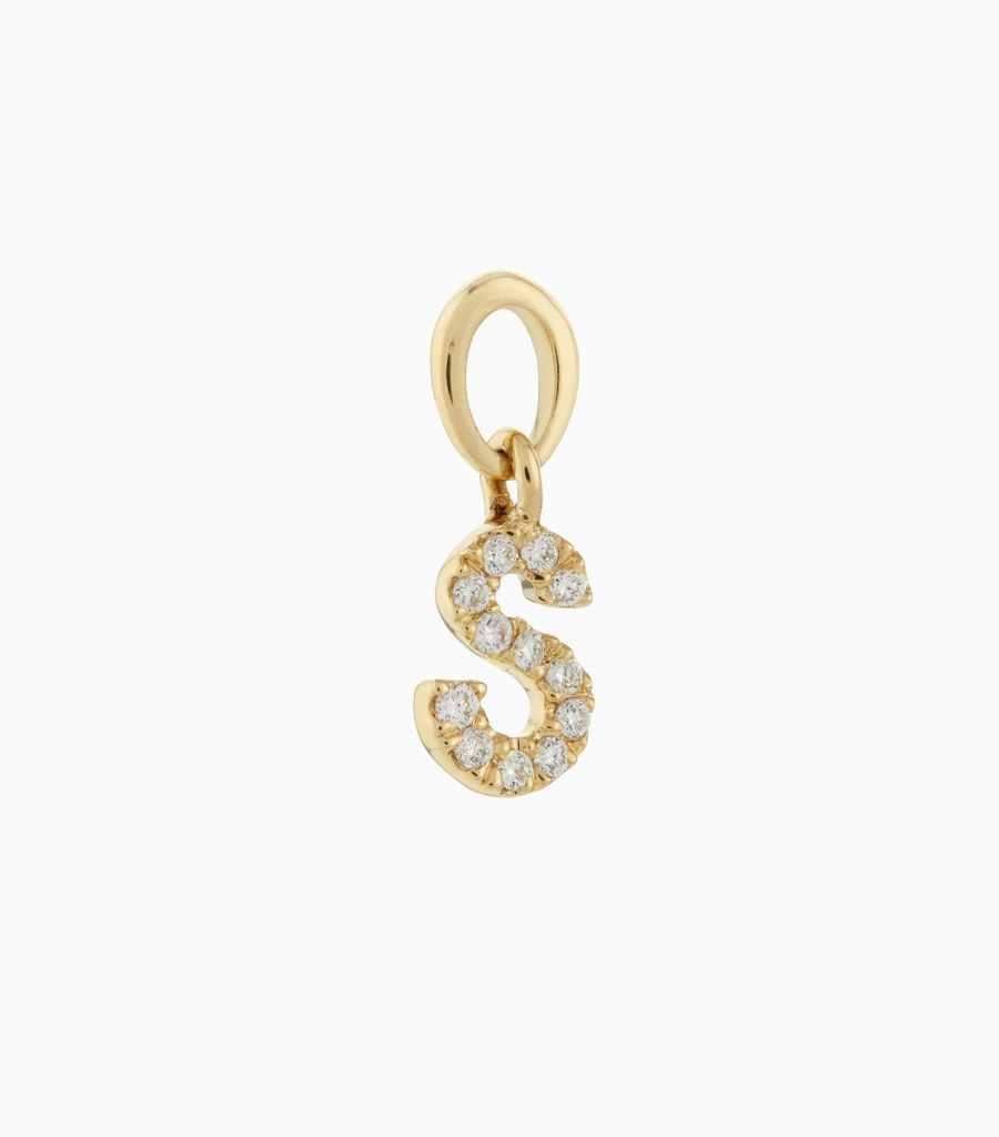 Talisman Diamond Letter S