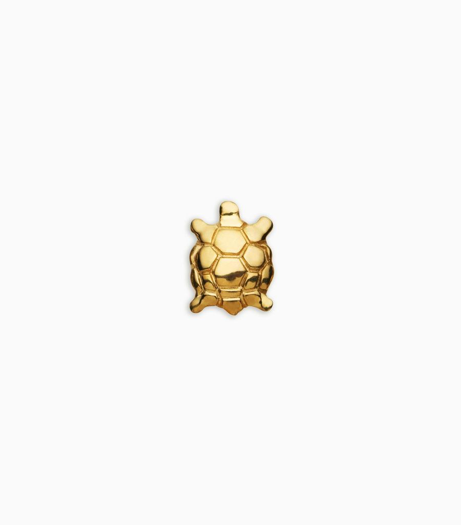 Luck/nature, yellow gold, 18kt, tortoise